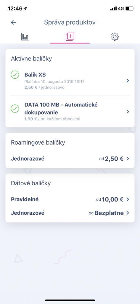 Telekom aplikácia