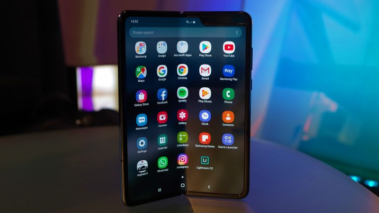 Samsung Galaxy Fold displej