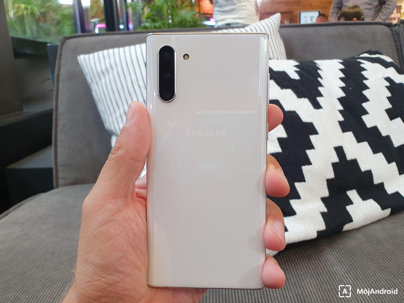 Samsung Galaxy Note 10 fotoaparat