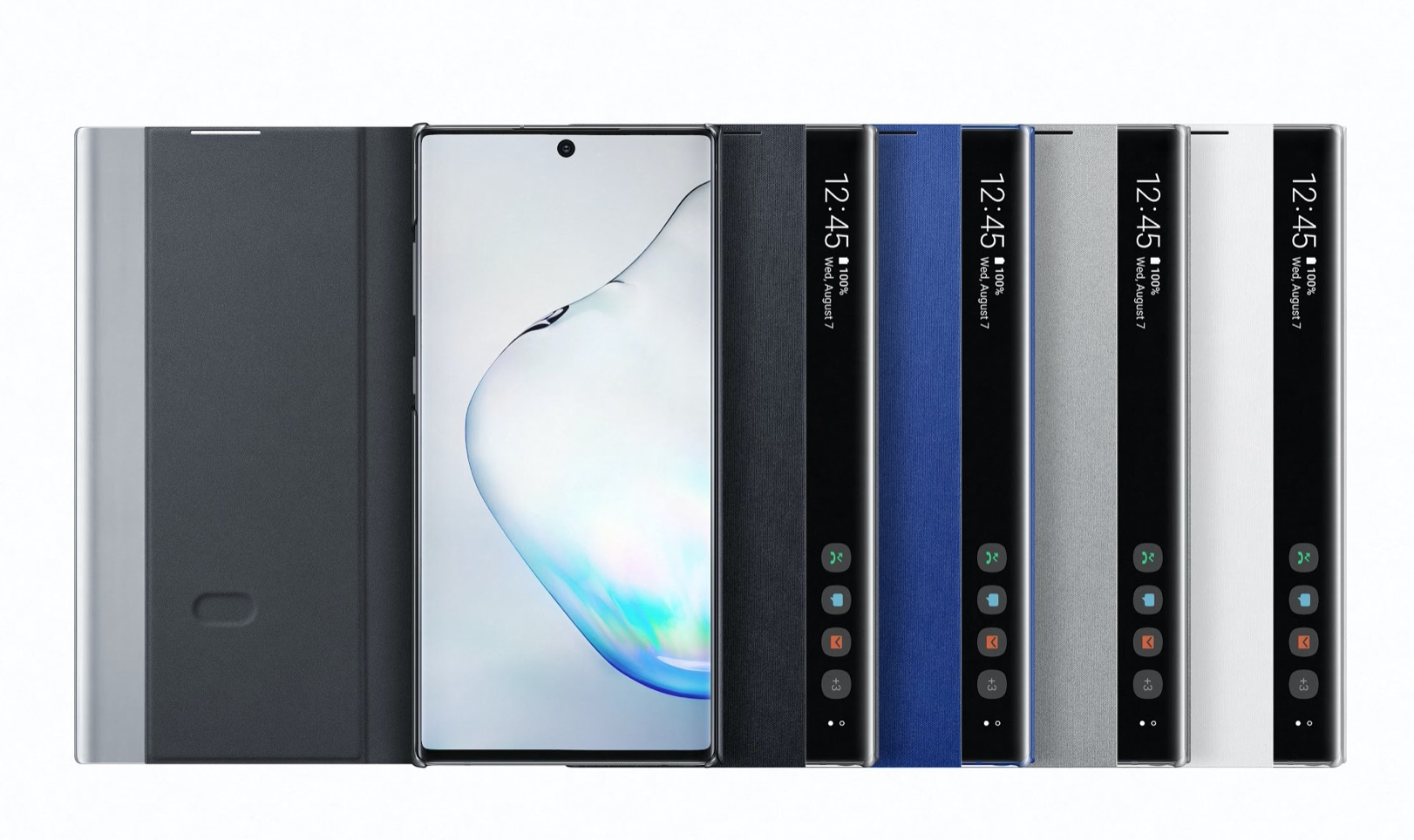 Samsung Galaxy Note 10 clear view cover puzdro