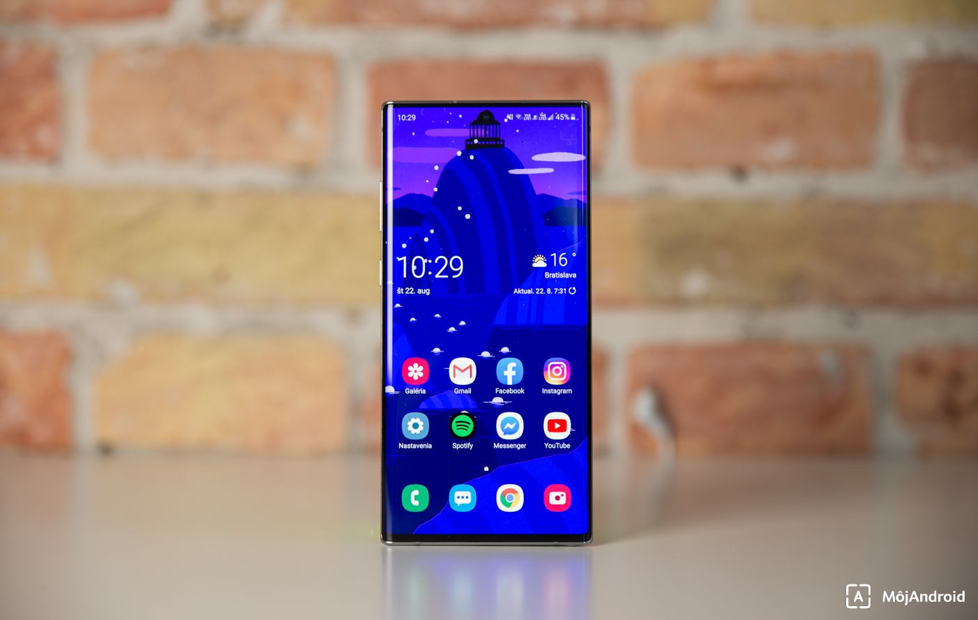 Samsung Galaxy Note 10 tapeta diera