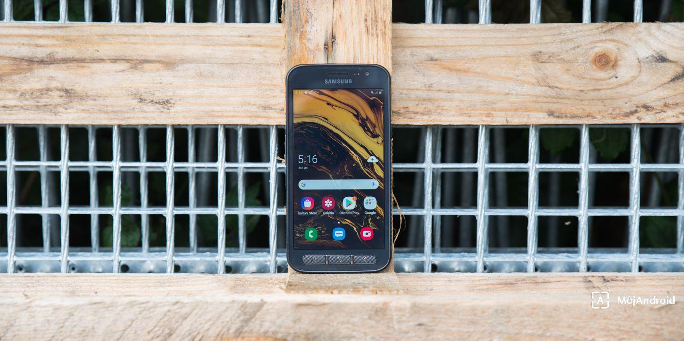 Samsung Xcover 4S displej