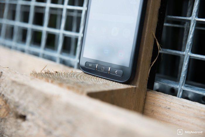 Samsung Xcover 4S softvérové tlačidlá