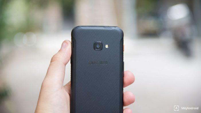 Samsung Xcover 4S fotoaparát