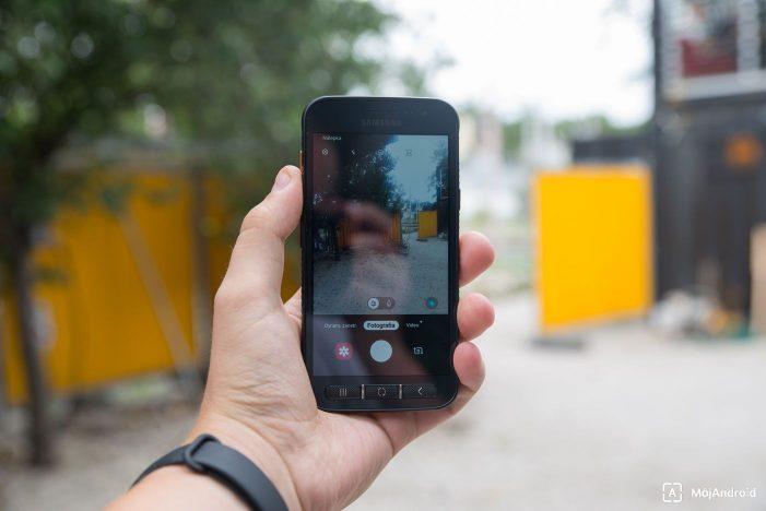 Samsung Xcover 4S fotografovanie