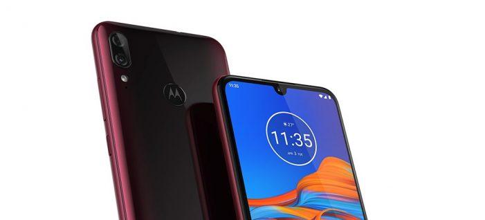 Motorola moto e6 plus výrez displej