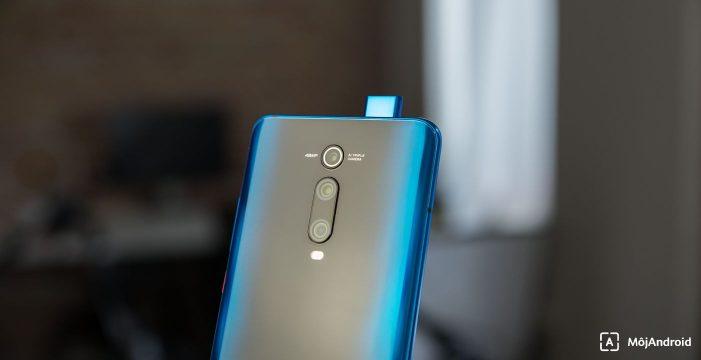 Xiaomi Mi 9T vysúvací fotoaparát