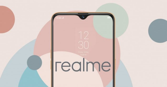 Realme displej