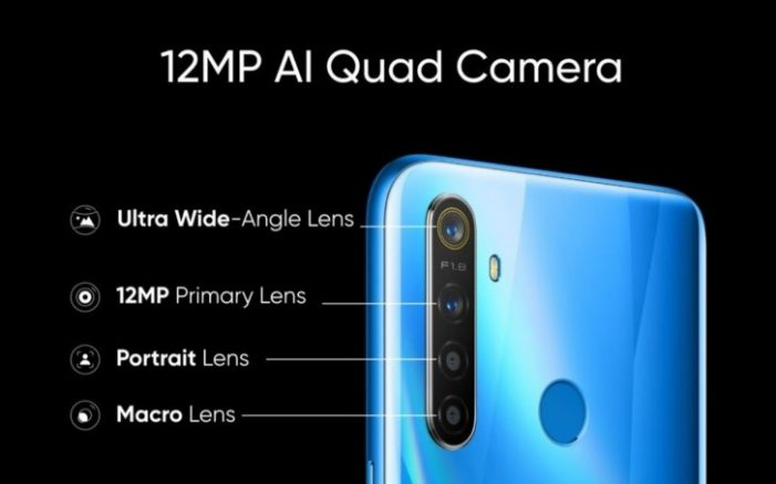 Realme 5 snímače fotoaparátu