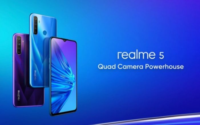 Realme 5 displej