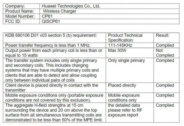Huawei FCC certifikácia