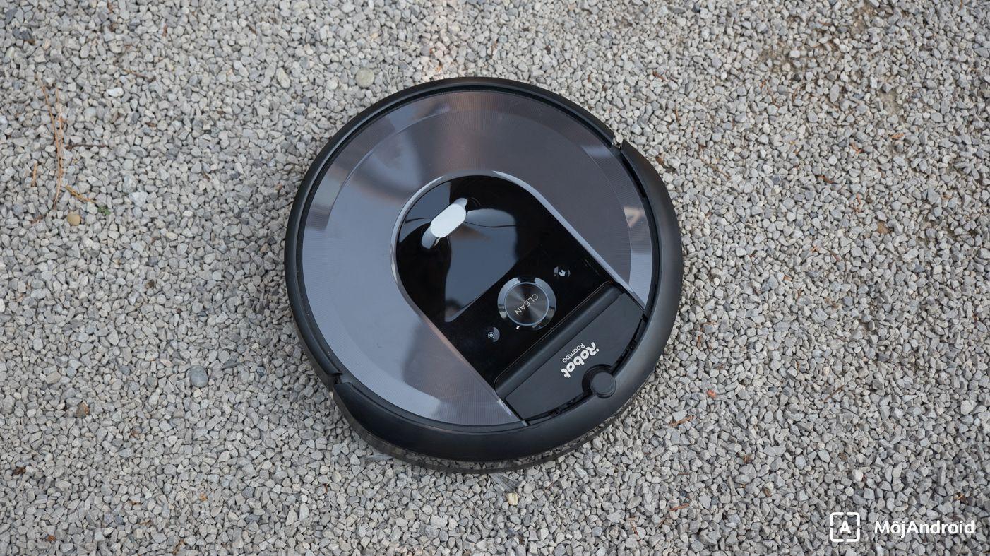 iRobot Roomba i7+ tlačidlá