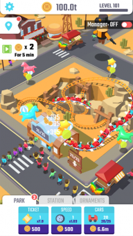 idle roller coaster 3
