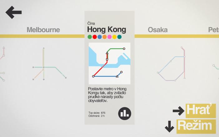 mini metro mapy