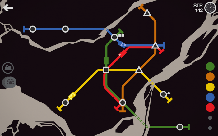 mini metro tmavé