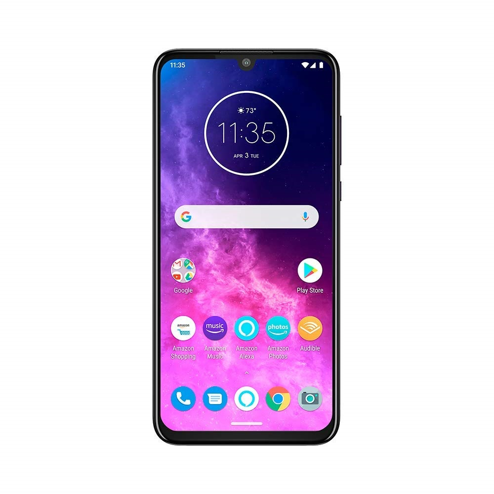 motorola one zoom displej