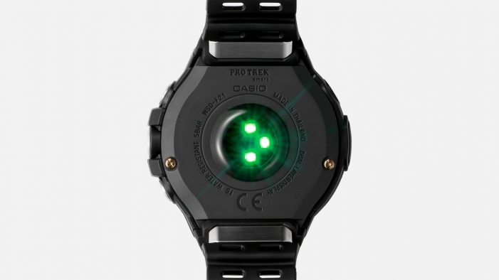 Casio Pro Trek WSD-F21HR senzor tepu