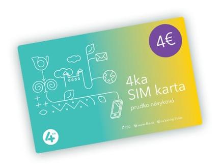 4ka SIM karta