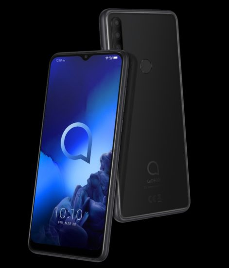 Alcatel 3X 2019 displej