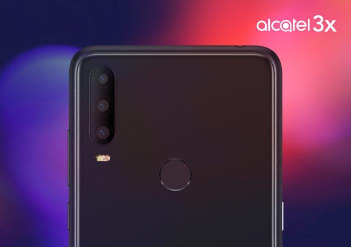 Alcatel 3X 2019 fotoaparát