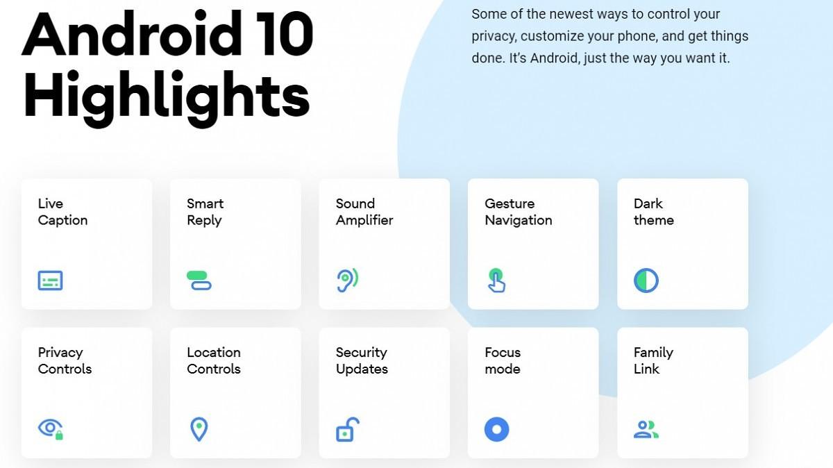 Android 10 novinky