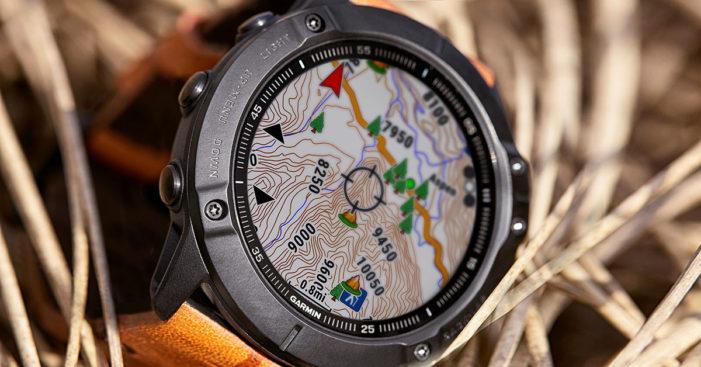 Garmin fénix 6 mapy