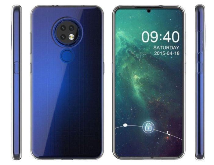 Nokia 7.2 displej a fotoaparát