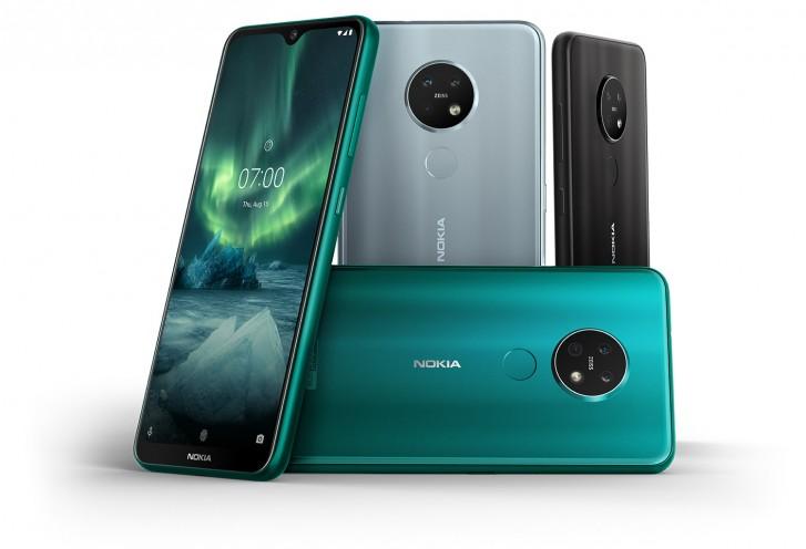 Nokia 7.2 trojitý fotoaparát