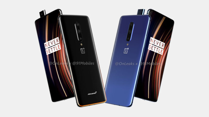 OnePlus 7T a 7T Pro render