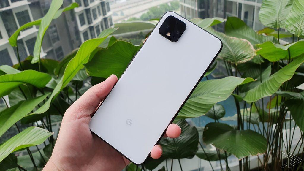Pixel-4-XL biely