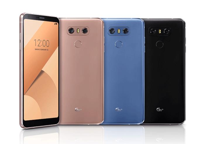 LG G6 farby