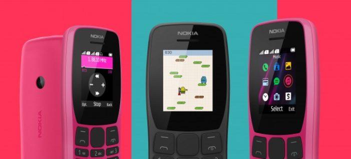 Nokia 110 farby