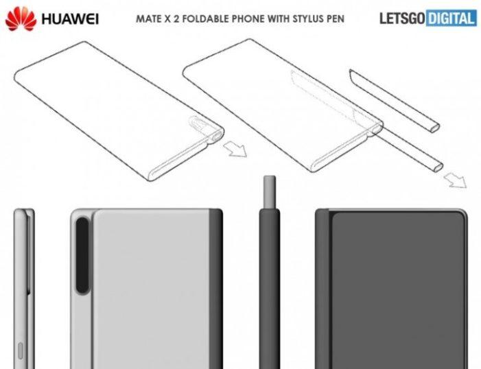 huawei mate x 2 patent