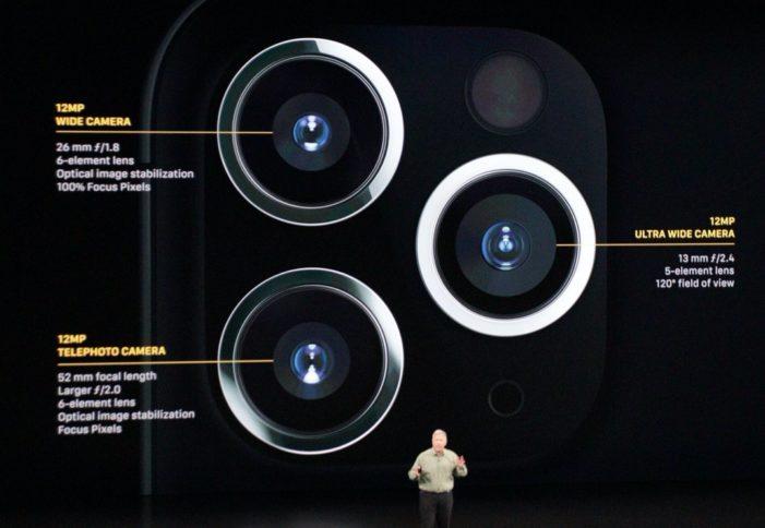 iPhone 11 Pro fotoaparát