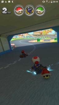 mario kart tunel