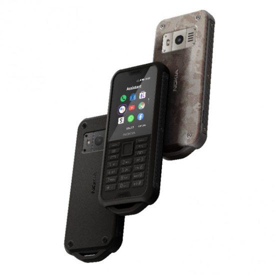 Nokia 800 Tough displej