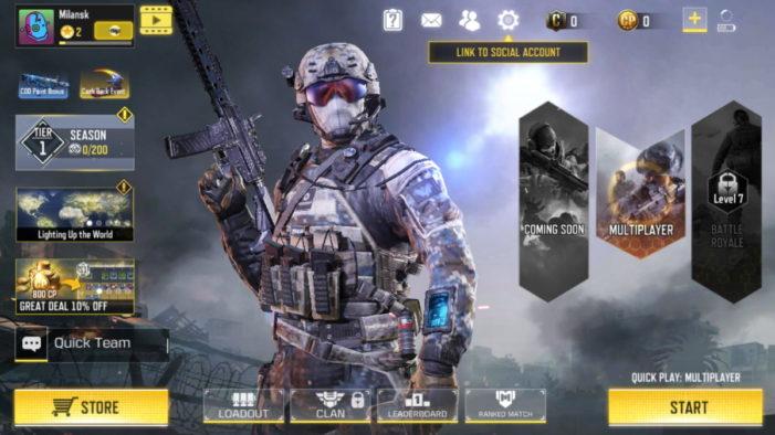 Call of Duty 1-1 úvod