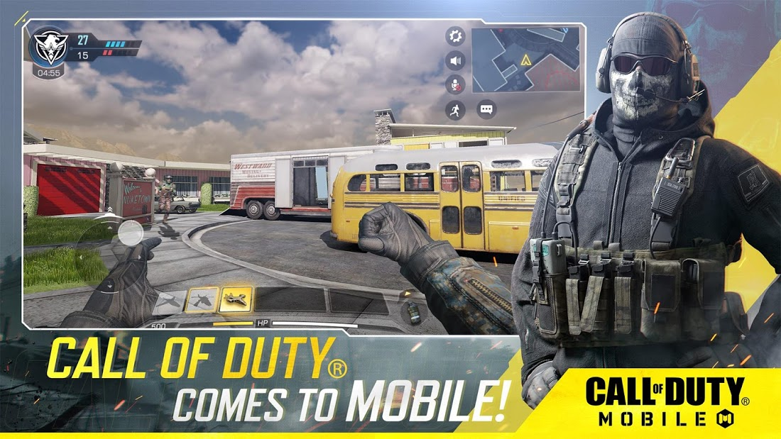 Call of Duty Mobile zbran