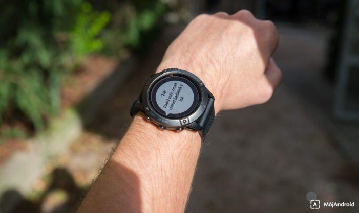 Garmin Fenix 6X Pro Solar notifikacie