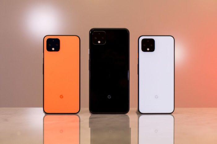 Google Pixel 4 farebné kombinácie