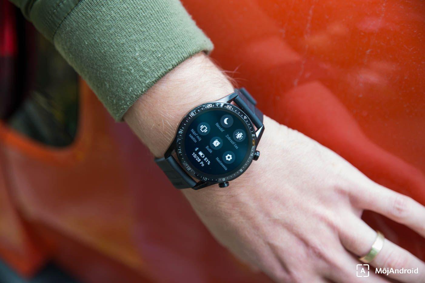 Huawei Watch GT2 nastavenia