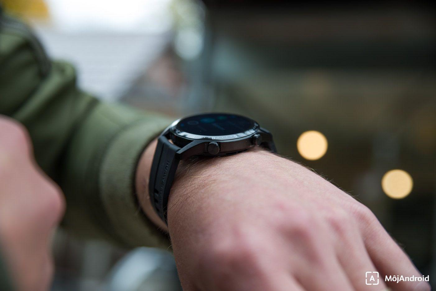 Huawei Watch GT2 tlacidla