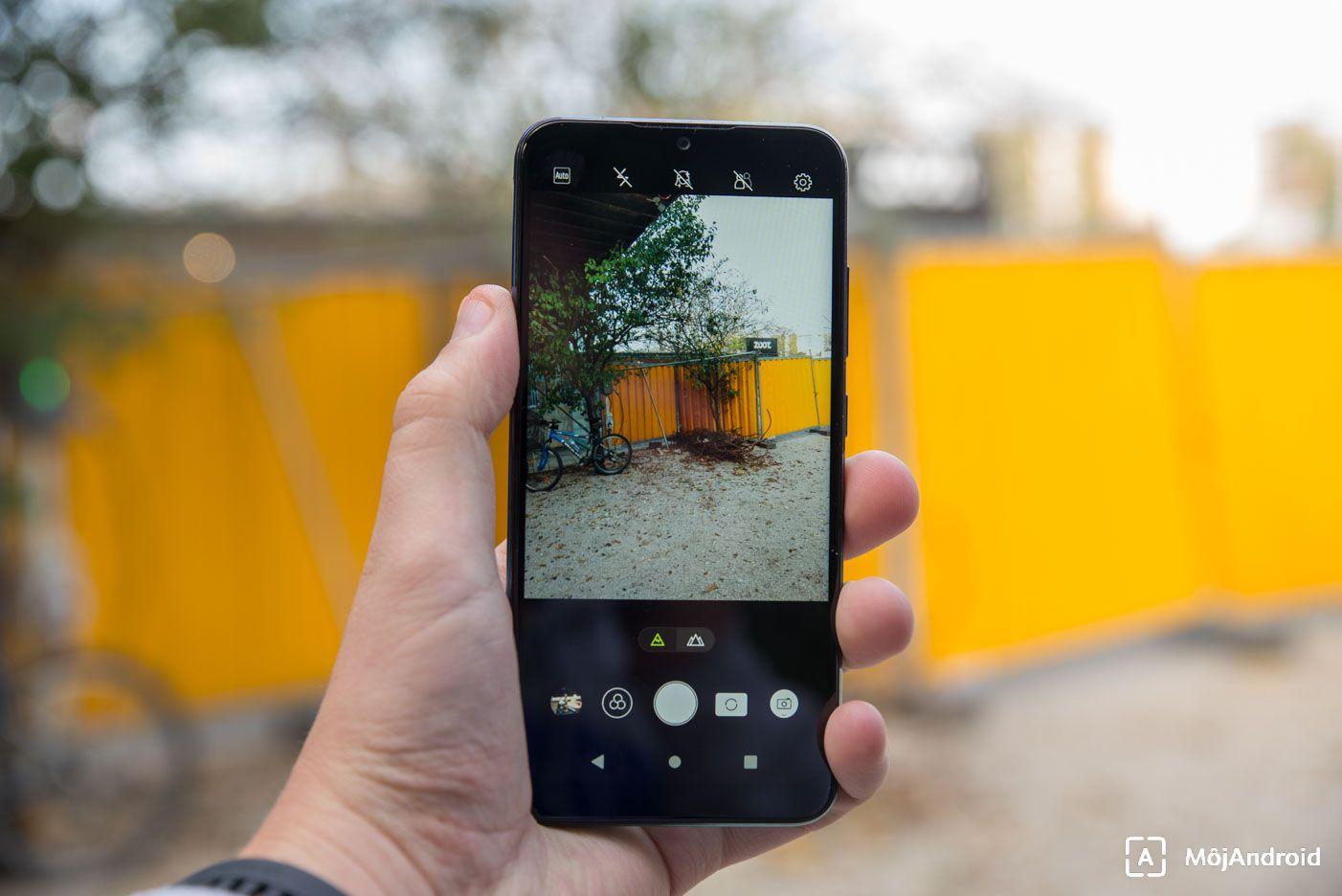 Lenovo K10 Plus fotenie fotoaparat