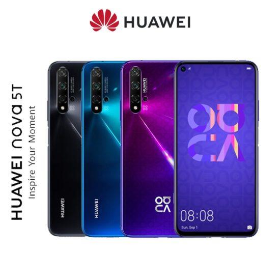 Huawei Nova 5T farby