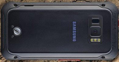 Samsung Galaxy Xcover FieldPro zadná strana