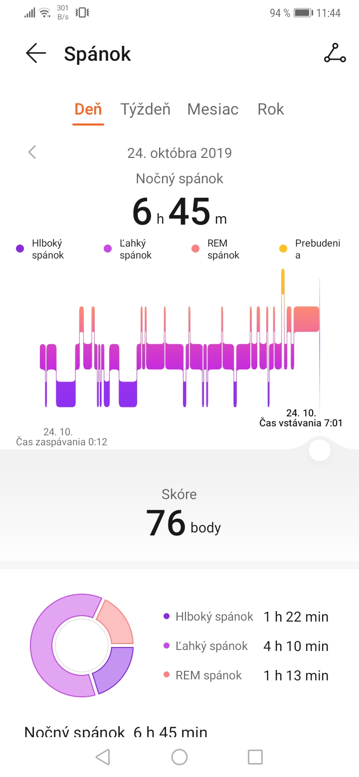 Huawei Health screenshot