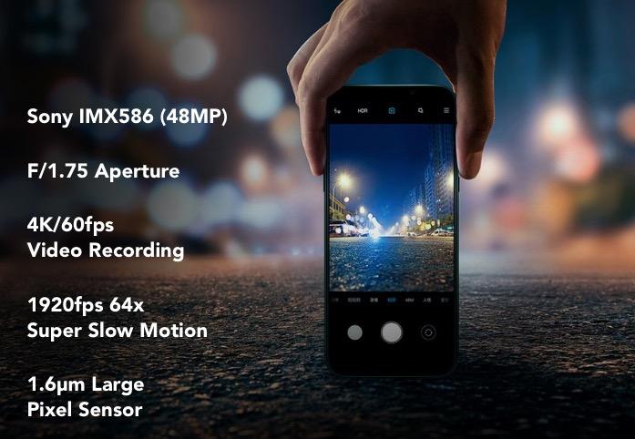 Black Shark 2 Pro fotoaparát
