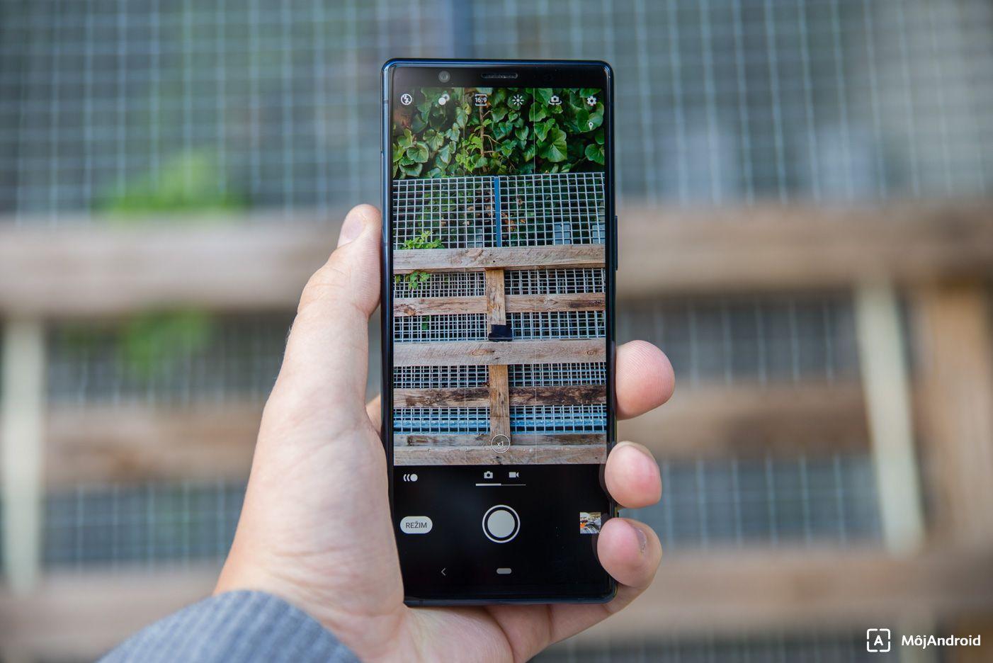 Sony Xperia 5 fotoaplikácia