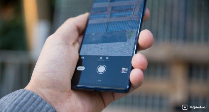 Sony Xperia 5 fotografovanie
