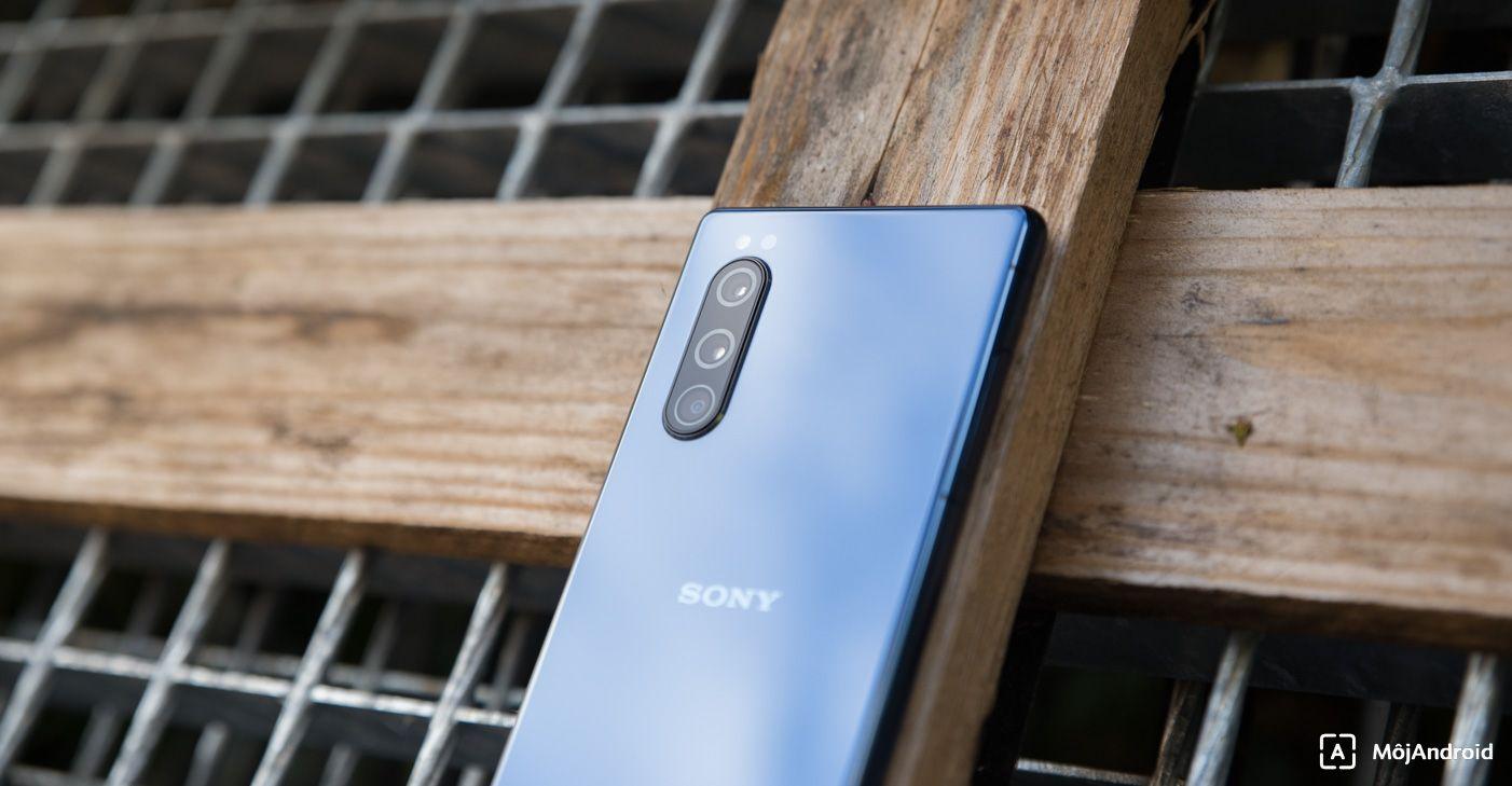 Sony Xperia 5 fotoaparát